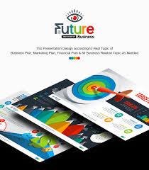 ppt business plan presentation business plan powerpoint presentation template on behance