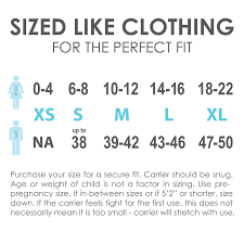 Ergo Baby Carrier Size Chart Details About Baby Ktan Xl Black Baby Carrier