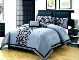charcoal grey velvet comforter dark brilliant gray sets inside contemporary bedroom