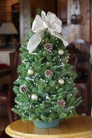 mini tabletop christmas tree with lights