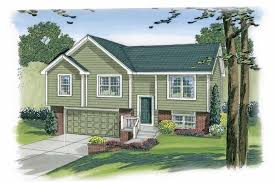 100 1191 3 bedroom 1096 sq ft multi level home plan 100 1191