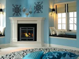 corner fireplace decor small images of