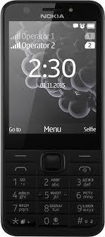 <b>Мобильный телефон Nokia 230</b> Dual SIM (черный)
