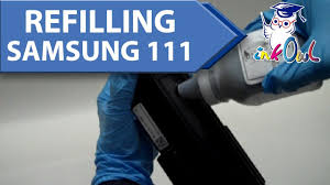 How to Refill SAMSUNG <b>MLT</b>-<b>D111S</b> (111S) <b>Toner Cartridges</b> for ...