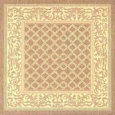 outdoor rug square rugs studio by brown garden lattice 4x4 indoor large size of