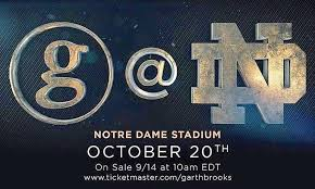 Garth Brooks Concert Notre Dame Seating Chart Heres How To Get Your Tickets For Garth