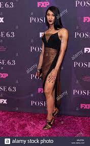 MJ Rodriguez besucht FX Pose Premiere ...