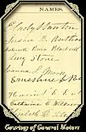 pbs  not for ourselves alone  the story of elizabeth cady stanton    the first signatures on the declaration of sentiments