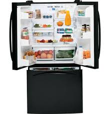 refrigerator with internal water dispenser. GE Profile™ 22.2 Cu. Ft. French-Door Refrigerator With Internal Water Dispenser | PFS22MIWBB Appliances