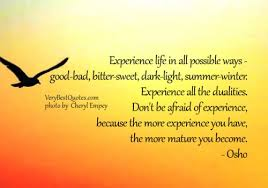 Life Experience Quotes New 48 Wise Quotes About Life Experiences Pelfusion