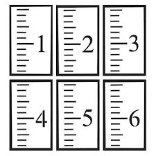 Growth Chart Ruler Stencil Www Bedowntowndaytona Com