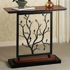 exclusive design semi circle accent table half round tables sofa house decorations high top behind couch how to make inch console tall depth end living