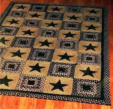 star rug runners area rugs barn patch rustic round texas outdoor bath mat brown lone grey star western lodge chocolate area rug