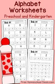 FREE ALPHABET DOT PAGES PACK (Instant Download!) | Free Homeschool ...