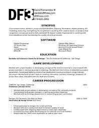 Game Producer Sample Resume Mitocadorcoreano Com