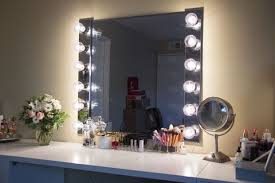 small vanity mirror with lights. excellent glam diy lighted vanity mirrors decorating your small space regarding light mirror attractive with lights