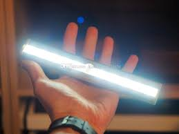 2016 10 led wireless motion sensor led night light battery powered motion activated closet light wall