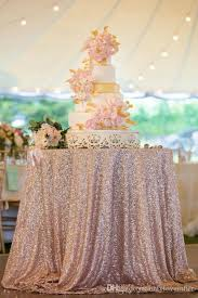 108inch round champagne sequin tablecloth sequin tablecloth cocktail table sequin tablecloth overlay for wedding party brithday champagne sequin tablecloth