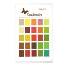 Die Spring Color Chart Warm Tone Autumn Spring Colors Color Wardrobe Charts
