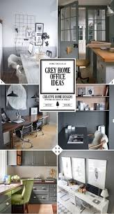 home office paint. When It Comes To Grey Home Offices, You Can Either 1) Paint All Of The Walls Grey, Or 2) White. Office
