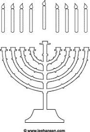 Small Picture Menorah coloring page Hannukah Winter with kids Pinterest