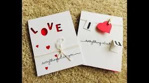 diy valentine s day card anniversary card handmade valentine cards handmade