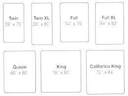 Mattress Size Comparison Chart Standard Mattress Dimensions Yescarfinance Co