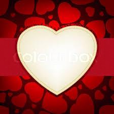 valentine heart frame. Plain Heart Valentine Day Card  Heart Frame Template  Stock Vector Colourbox Inside Heart Frame I