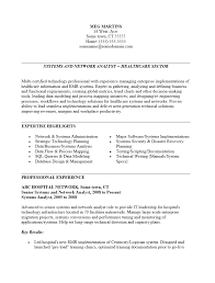 Health Care Administration Resume Healthcare Internship Example With