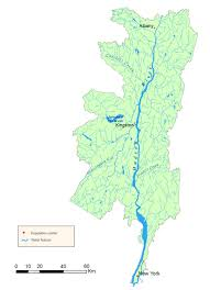 lower hudson watershed map  nys dept of environmental conservation