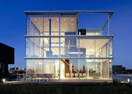 glass wall house modern house with big open views trough glass wall modern glass house cost