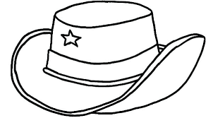 Coloring Pages Hat Construction Hat Coloring Page Hat Drawing At