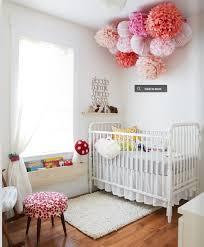 Paper Lanterns and Tissue Paper Pom Poms - wedding decor - baptism -  christening - princess party - pink - nursery decor - baby's room