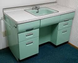 vintage steel bathroom vanity