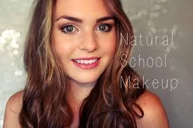 blair waldorf inspired natural back to makeup tutorial fresh skin and balanced features you