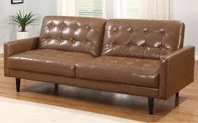 unique leather sleeper sofa