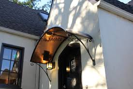 front door awningfront door awnings Entry Contemporary with Arlington bridge cable