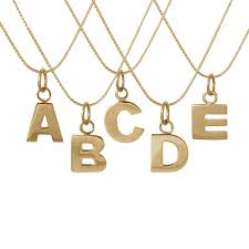 Letters Collection From Edge Only Jewelry | Ethically Made In Ireland