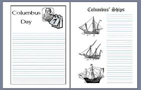 columbus day notebooking pages notebooking fairy these