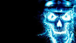 Blue Skull Fire Wallpapers - Wallpaper Cave