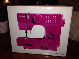 John Lewis Pink Sewing Machine