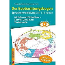 Kostenlose überweisungen, lastschriften und bargeldabhebungen. Auf Einen Blick Der Beobachtungsbogen Sprachentwicklung Von 1 6 Jahren Buch