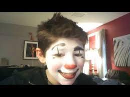 clown make up tutorial white face 2