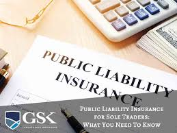 public liability insurance for sole traders what you need to know