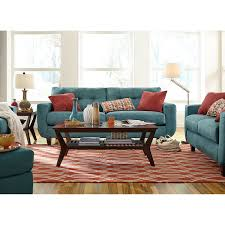 Value City Living Room Furniture West Village Sofa Blue Value City Furniture