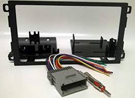 amazon com dash kit and wire harness for installing a new double dash kit and wire harness for installing a new double din radio into a chevy chevrolet