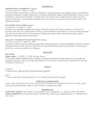 examples of best written resumes cipanewsletter cover letter example of a well written resume samples of a well