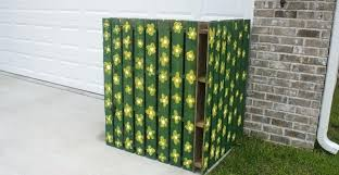 trash can cover hide outdoor garbage cans clever 5 creative ways to your