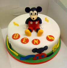 Baby Mickey Mouse Edible Cake Decorations Mickey Mouse Cake Decoration Ideas Little Birthday Cakes