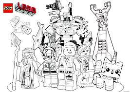 Coloriage Lego Marvel The Movie Film 2017 Jecolorie Com
